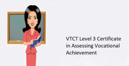 VTCT Level 3 Certificate in Assessing Vocational Achievement